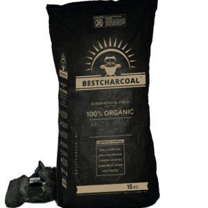 15kg verpakking wit eiken houtskool