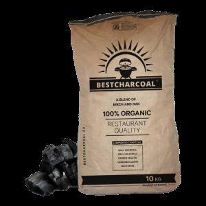 10kg verpakking houtskool berk en eiken