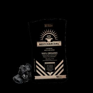 10kg verpakking houtskool berk en espen